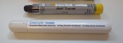 A Jext trainer and Emerade trainer