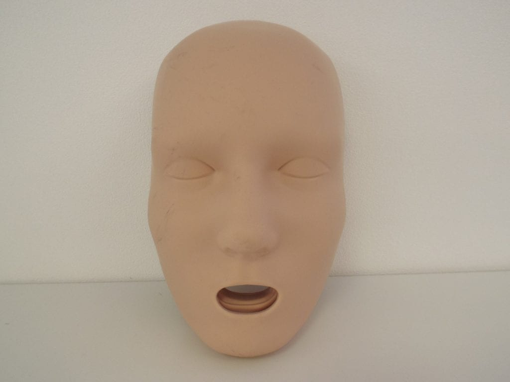A replacement Adult manakin face