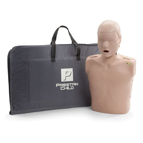 Prestan Professional Child CPR/AED Training Manikin with CPR monitor - includes 10 lung bags