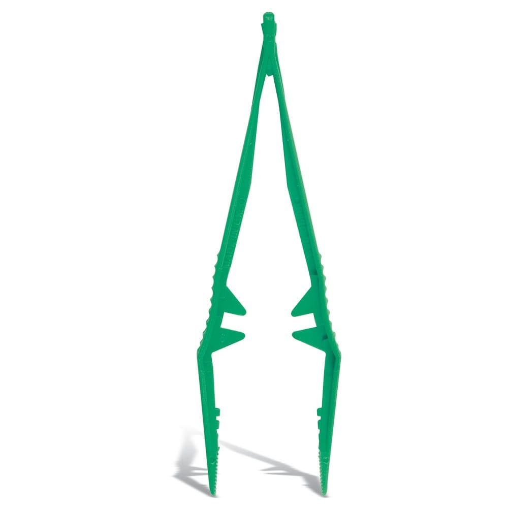 Green sterile tweezers